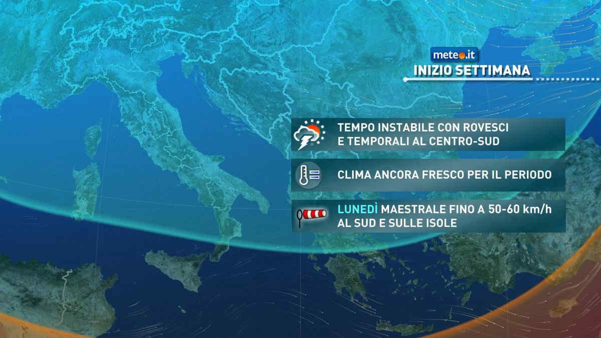 Meteo, da martedì 20 aprile temperature in aumento ma tempo ancora instabile