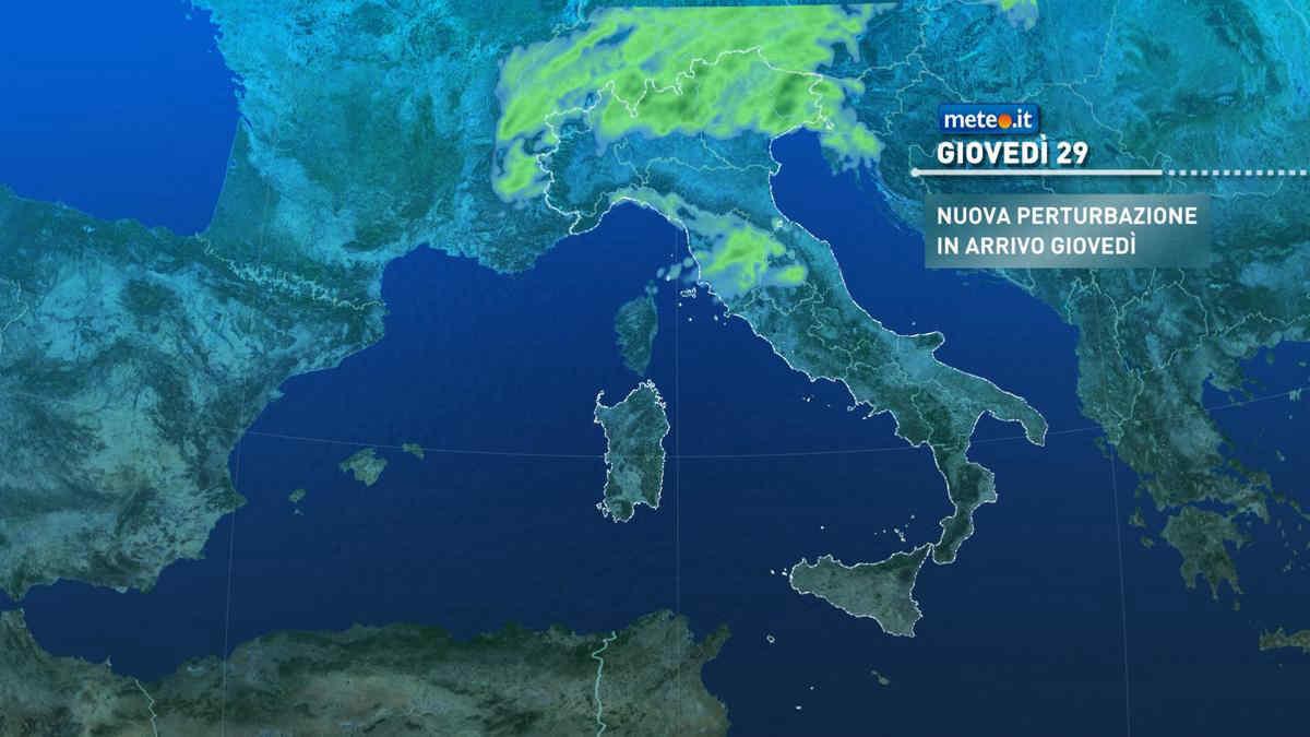 Meteo, tra fine aprile e inizio maggio ancora piogge sul Centro-Nord