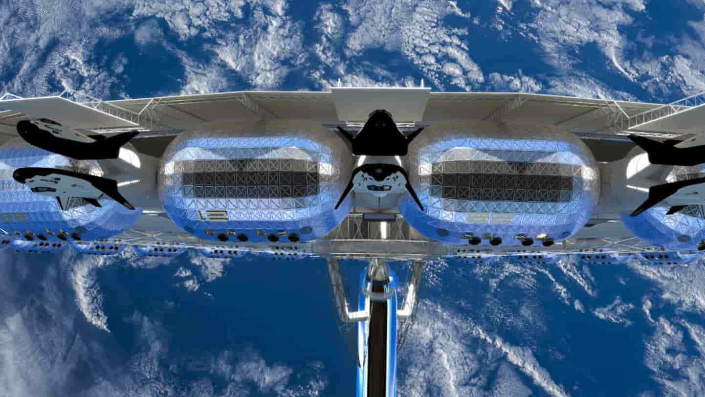 Il primo hotel spaziale arriverà nel 2027