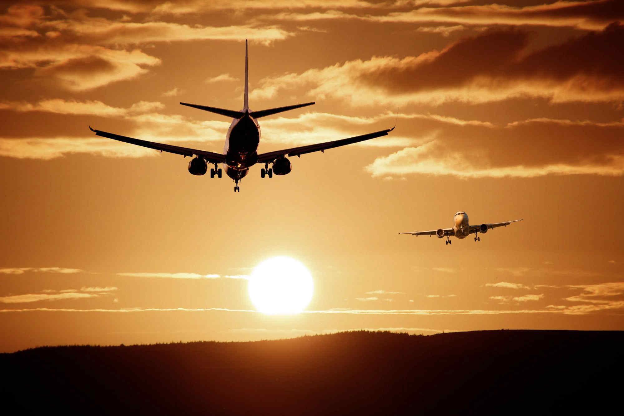 L'inquinamento rende i viaggi in aereo sempre meno sicuri