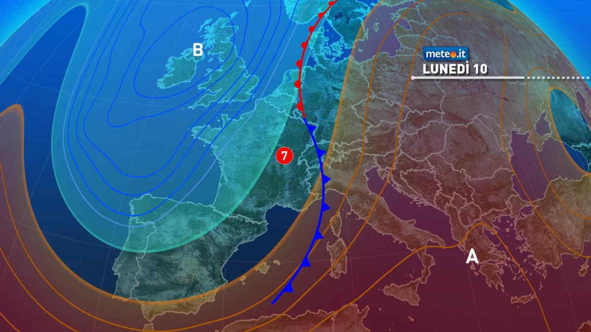 Meteo, weekend con l'anticiclone ma da lunedì 10 maggio torna il maltempo