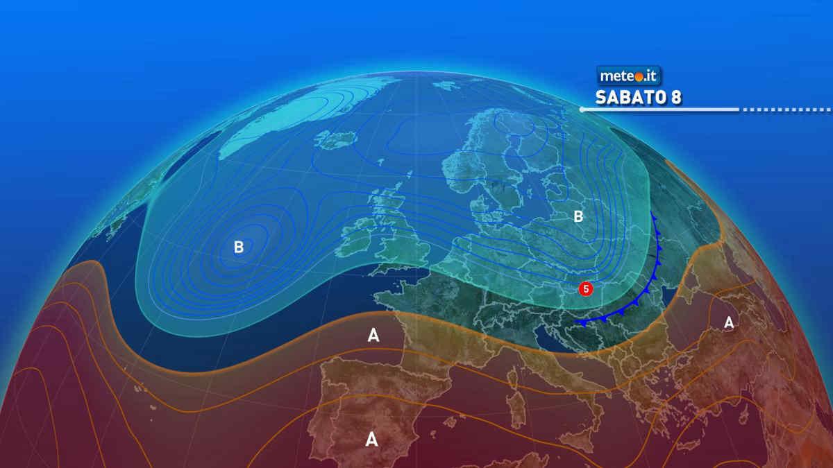 Meteo 8 maggio, torna l'alta pressione: tanto sole e clima mite
