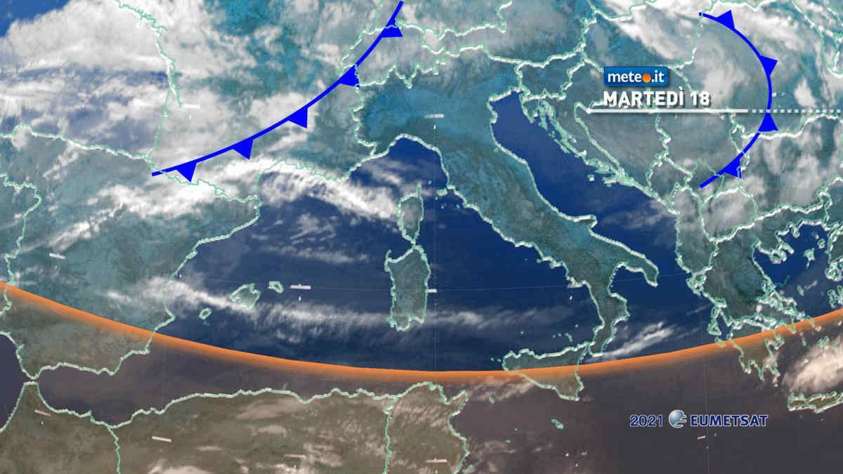 Meteo 18 maggio, nuova fase temporalesca al Nord