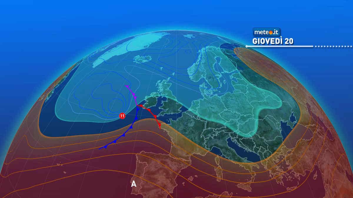 Meteo, 20 maggio a rischio pioggia per diverse regioni