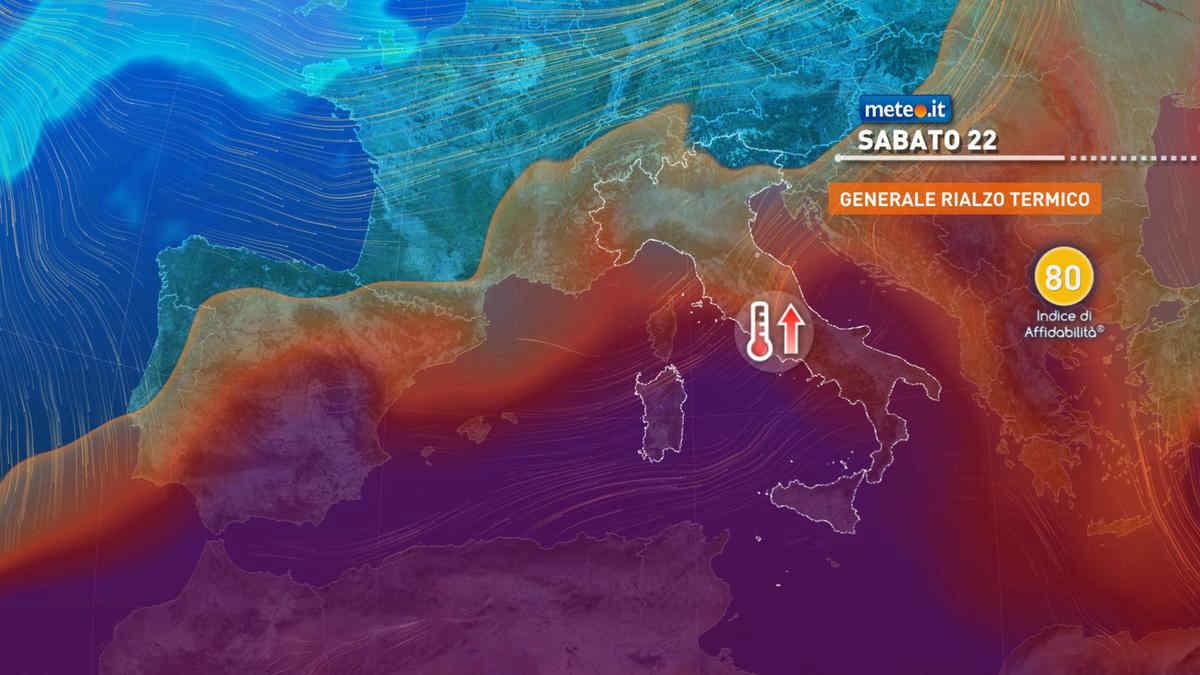 Meteo, nel weekend del 22 maggio torna l'alta pressione, ma non per tutti