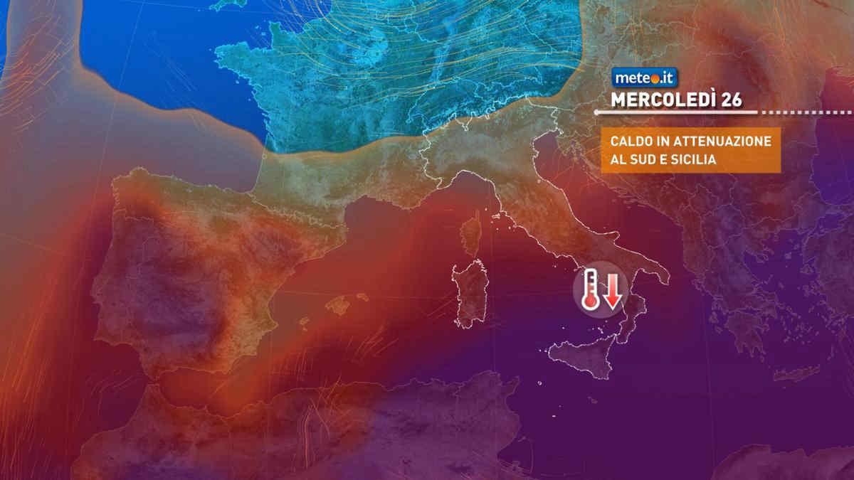 Meteo, da martedì 25 maggio la situazione tenderà a migliorare anche se avremo ancora instabilità