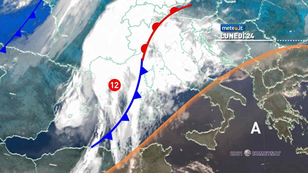 Meteo 24 maggio: forte maltempo al Centro-Nord, estate al Sud