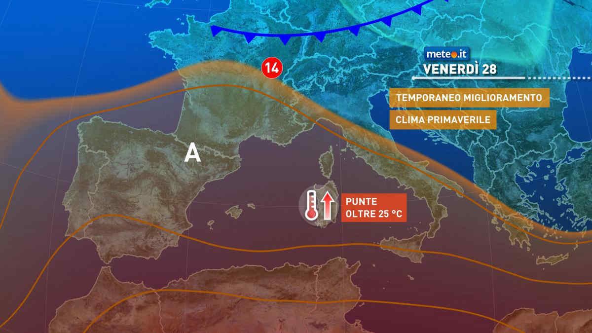 Meteo, 28 maggio con prevalenza di sole sull'Italia