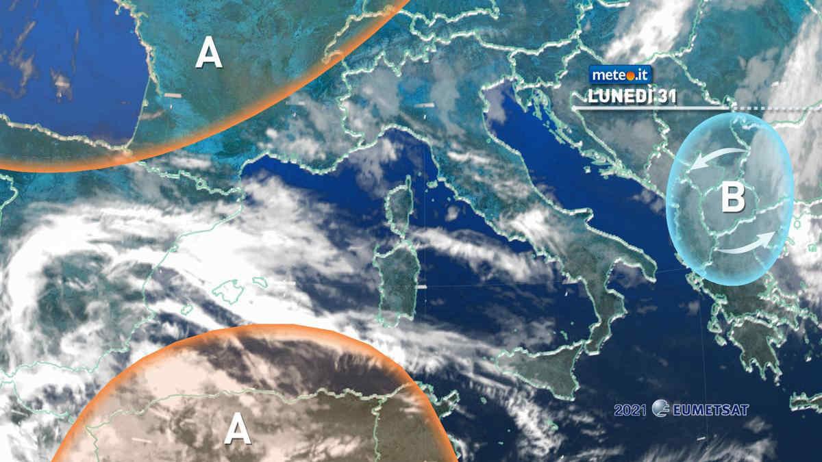 Meteo, 31 maggio più stabile sull'Italia