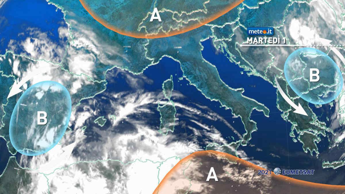 Meteo 1 giugno: sole e tempo stabile, aumentano le temperature