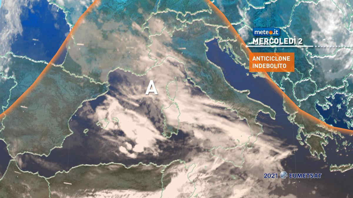Meteo, 2 giugno con nuvole in aumento per diverse regioni