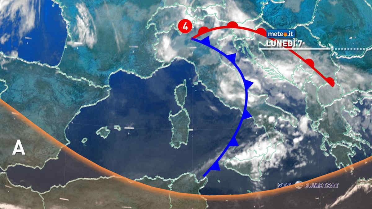 Meteo 7 giugno, Italia bersaglio dei temporali