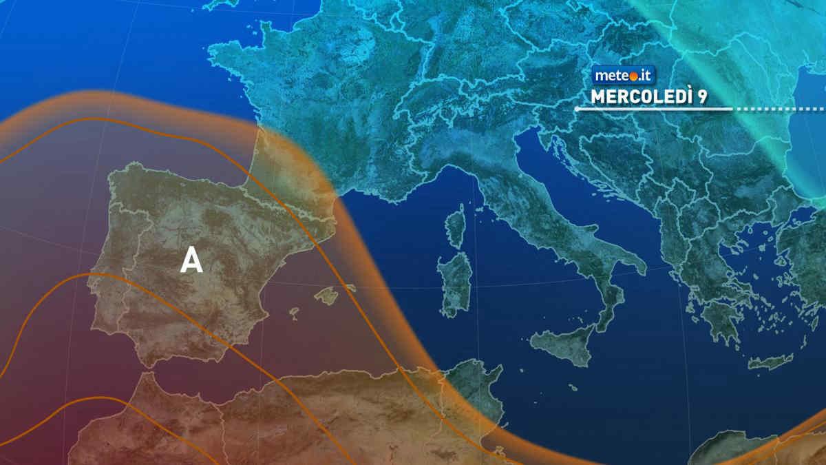 Meteo 9 giugno: ancora rovesci e temporali sull'Italia