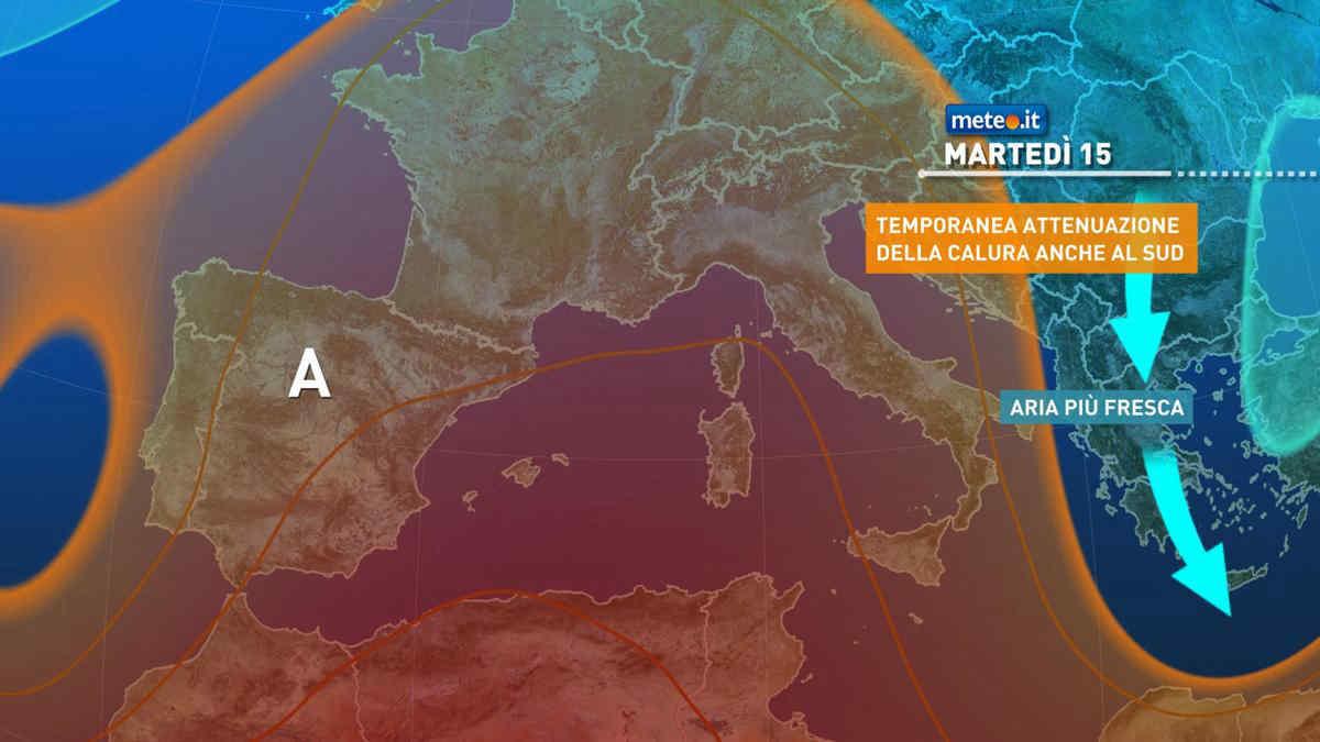 Meteo, martedì 15 giugno sole e Anticiclone delle Azzorre