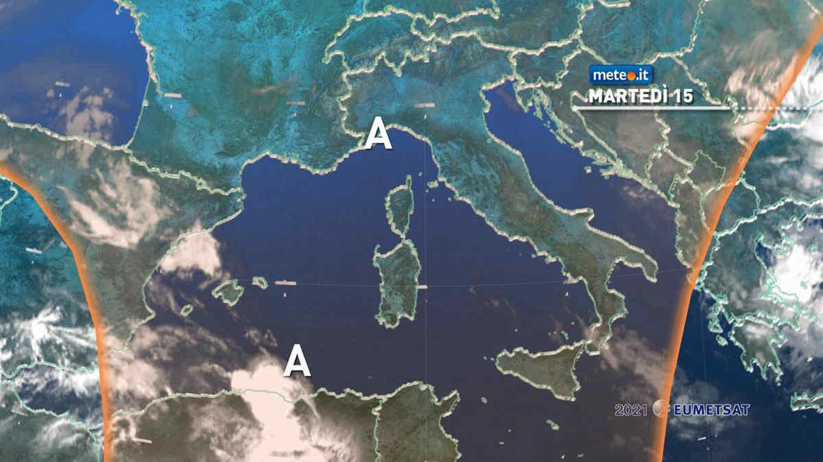 Meteo, 15 giugno stabile e caldo sull'Italia