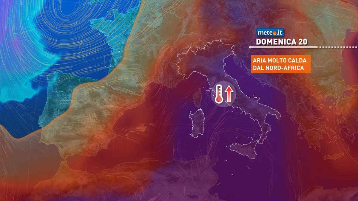 Meteo,  nel weekend del 19-20 giugno apice dell'ondata di caldo