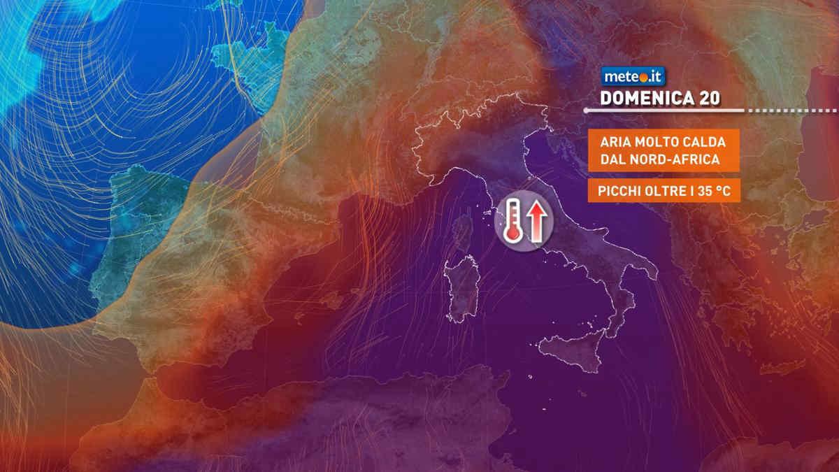 Meteo, nel weekend del 19 e 20 giugno l'apice dell'ondata di caldo