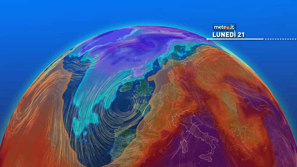 Meteo, dal 21 giugno lieve calo termico al Nord, caldo intenso al Centro-sud