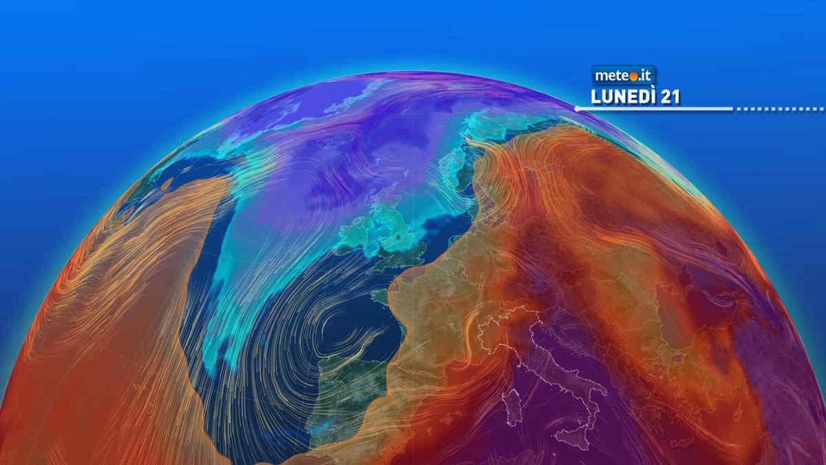 Meteo: 21 giugno bollente al Sud, si attenua il caldo al Nord