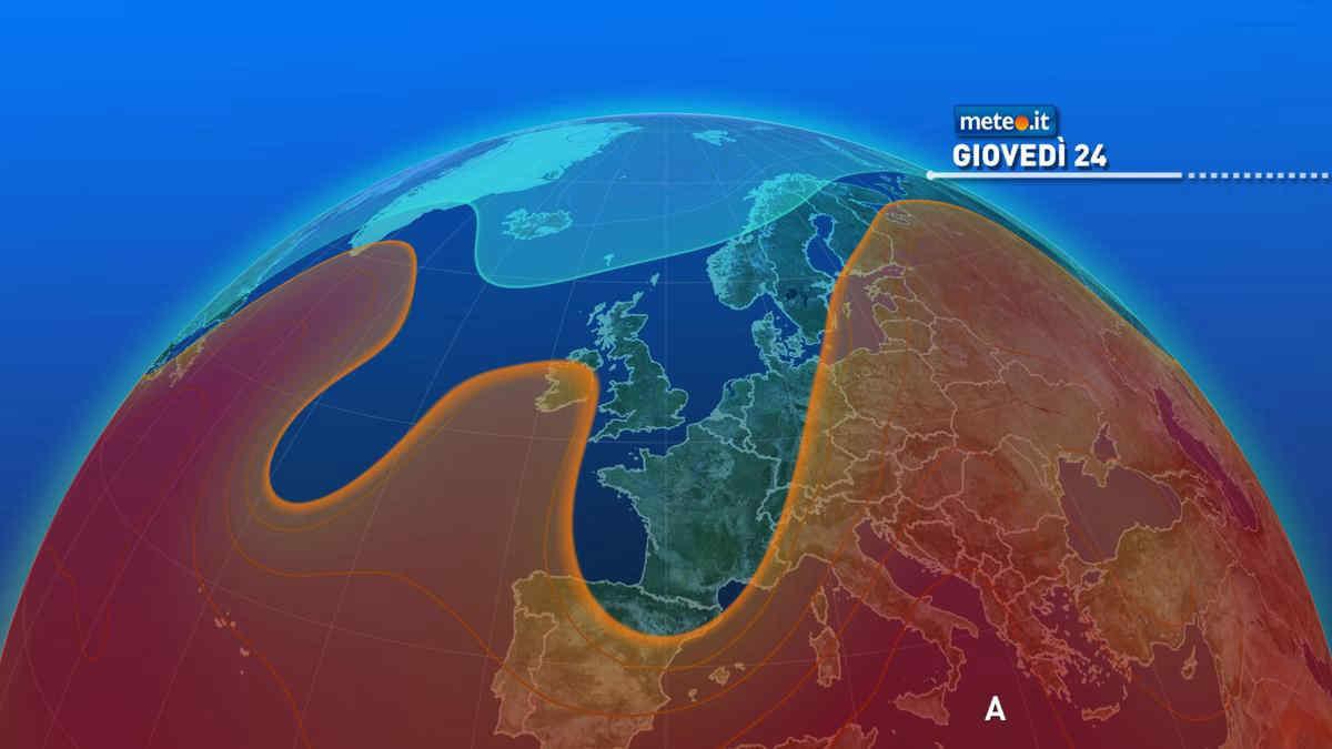 Meteo, caldo insistente al Sud: giovedì 24 ancora punte intorno ai 40 gradi