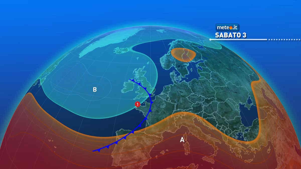 Meteo, nel weekend del 3-4 luglio rischio di forti temporali al Nord