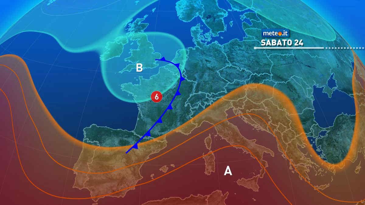Meteo, nel weekend del 24 e 25 luglio Italia divisa tra caldo intenso e temporali