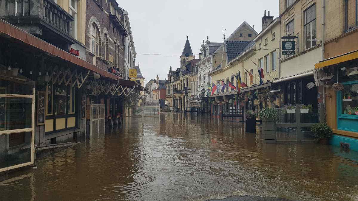 L'alluvione in Germania e Belgio è conseguenza del riscaldamento globale