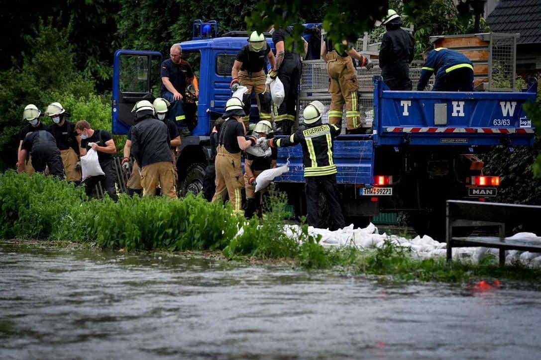 Maltempo Germania: decine di morti e dispersi a ovest del Paese