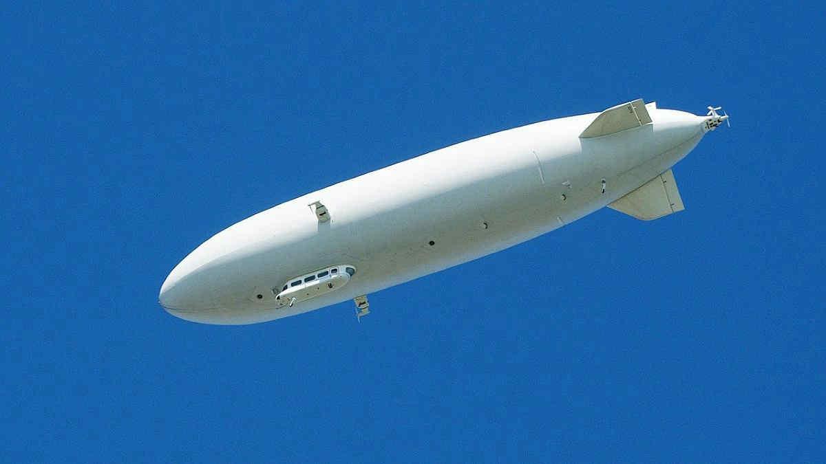 I dirigibili, un'alternativa green agli aerei