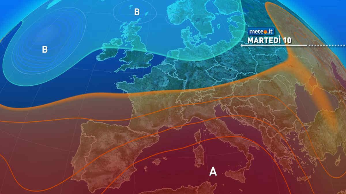 Meteo 10 agosto: Italia nella morsa del caldo estremo