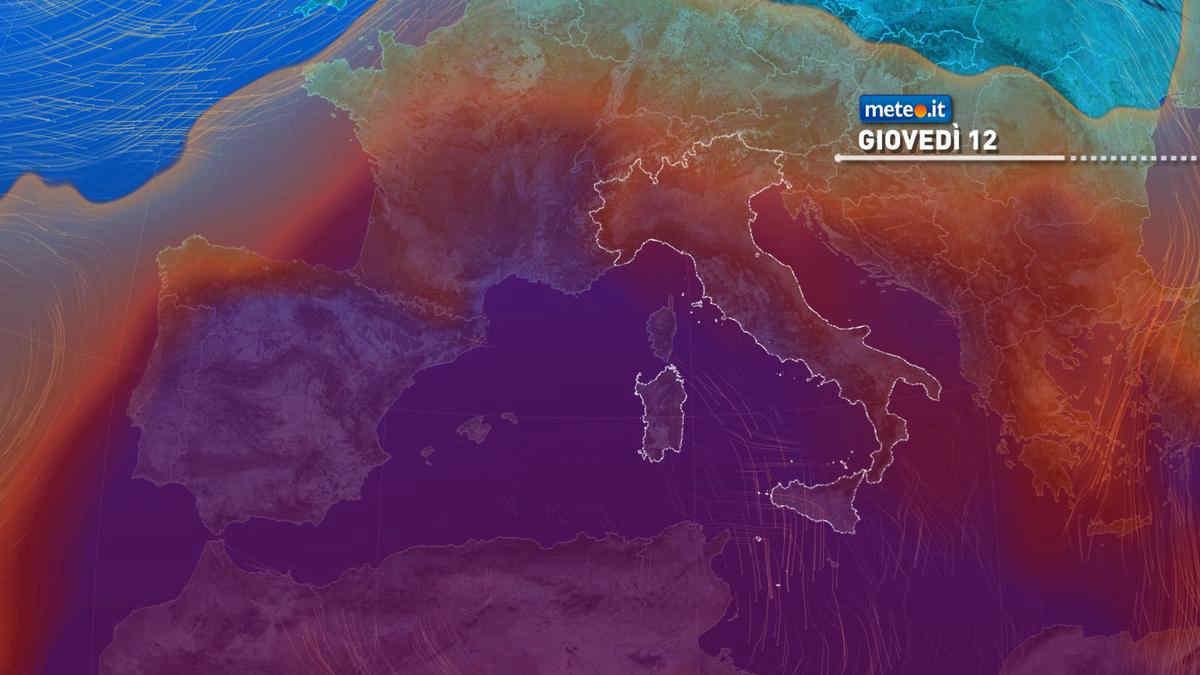Meteo, clima rovente anche nella seconda parte della settimana di Ferragosto