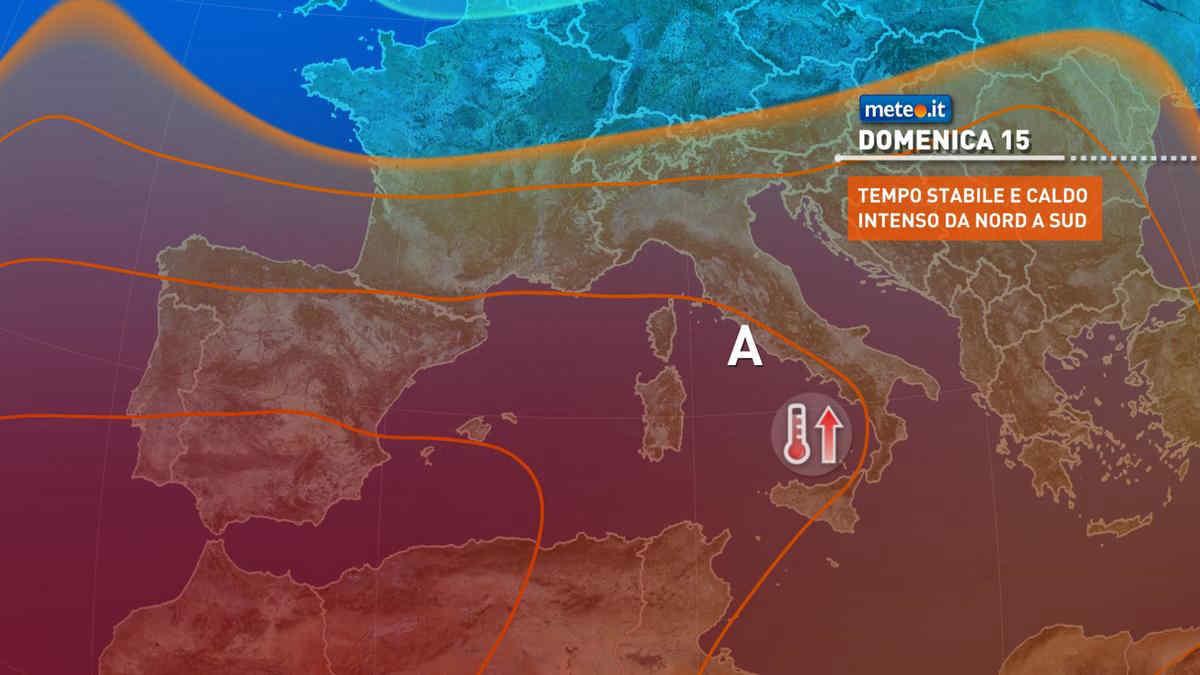 Meteo, Ferragosto con sole e caldo molto intenso sull'Italia