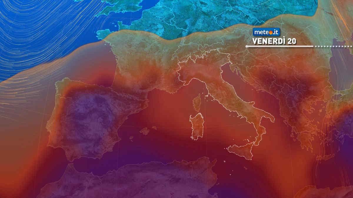 Meteo, nel weekend del 21 e 22 agosto tanto sole e caldo in aumento