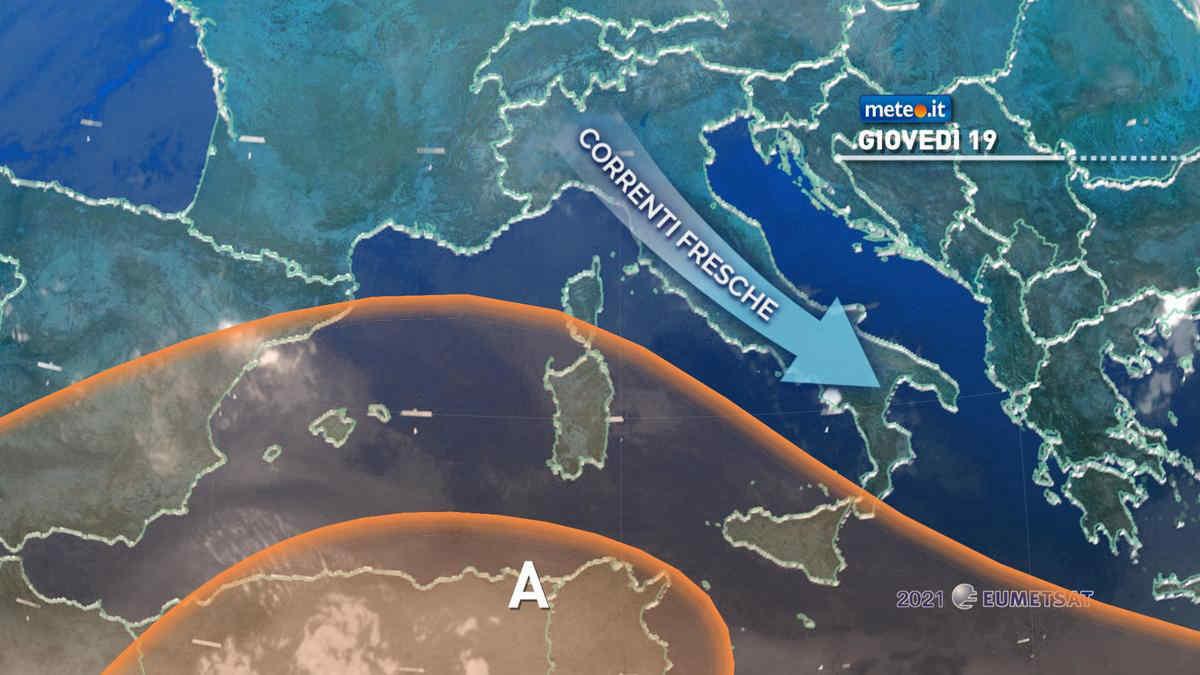 Meteo, fino al 20 agosto Italia tra sole e isolati temporali