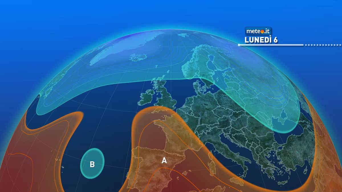 Meteo, lunedì 6 settembre residua instabilità al Sud e in Sicilia