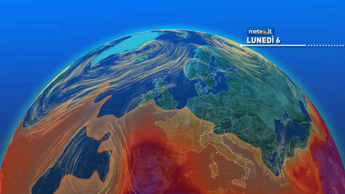 Meteo, lunedì 6 settembre rischio temporali al Sud e Sicilia