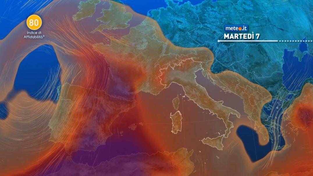 Meteo, martedì 7 soleggiato al Centro-Nord, ancora un po' instabile all'estremo Sud