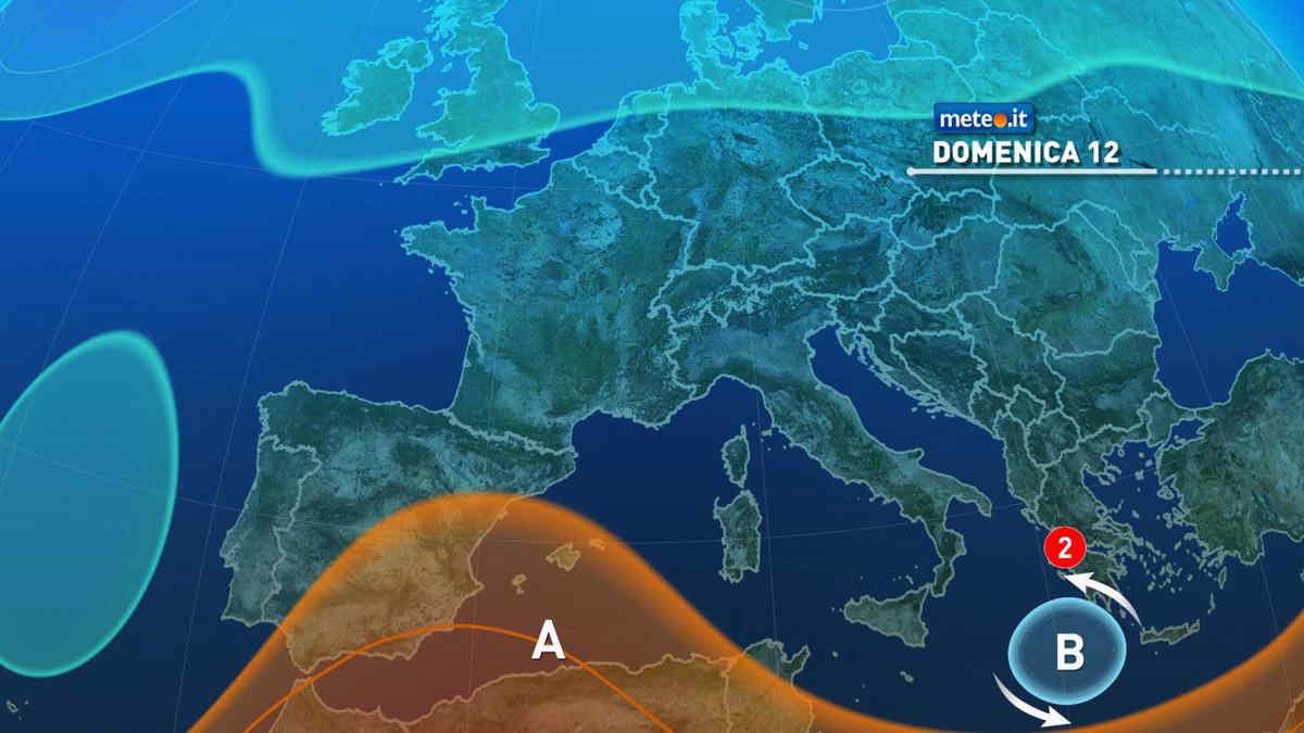 Meteo, domenica 12 settembre residua instabilità all'estremo Sud