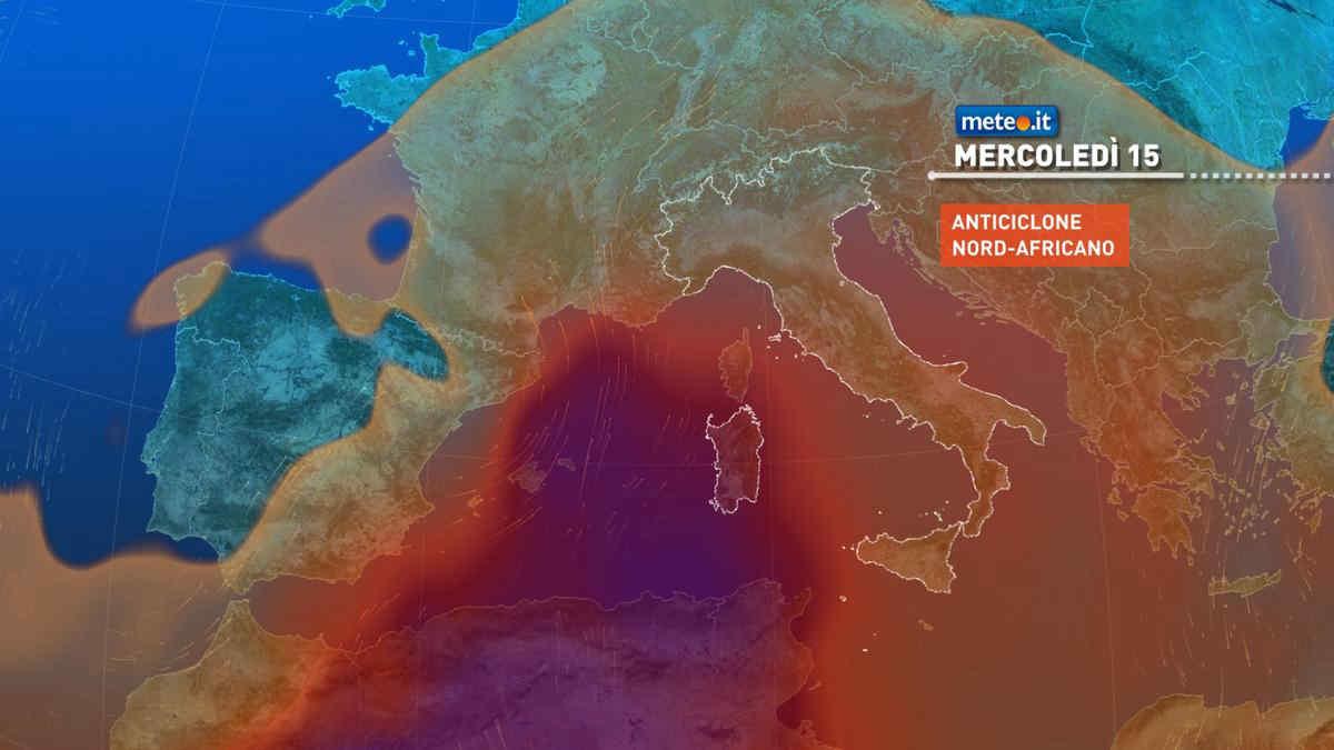Meteo, tra il 15 e 16 settembre perturbazione al Centro-Nord