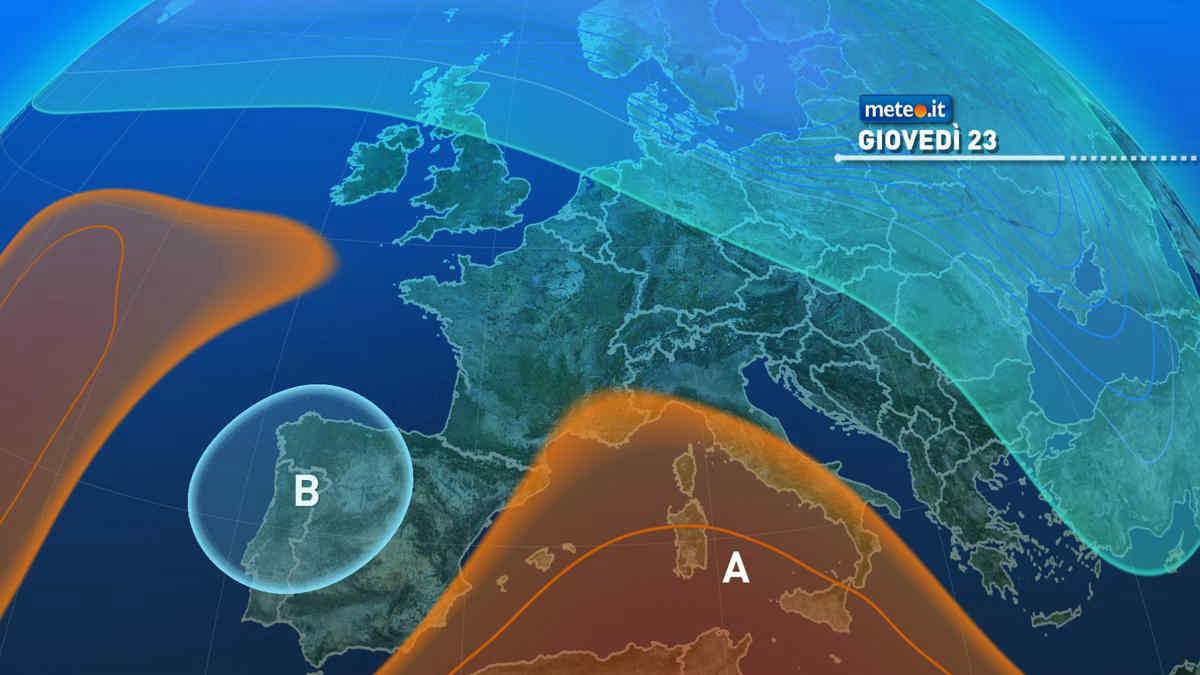 Meteo, dal 23 settembre sensibile aumento delle temperature