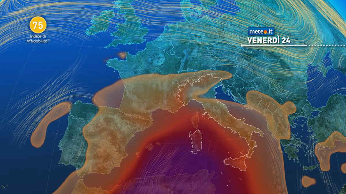 Meteo, 24 settembre dal sapore estivo: arriva aria calda dal Nord Africa