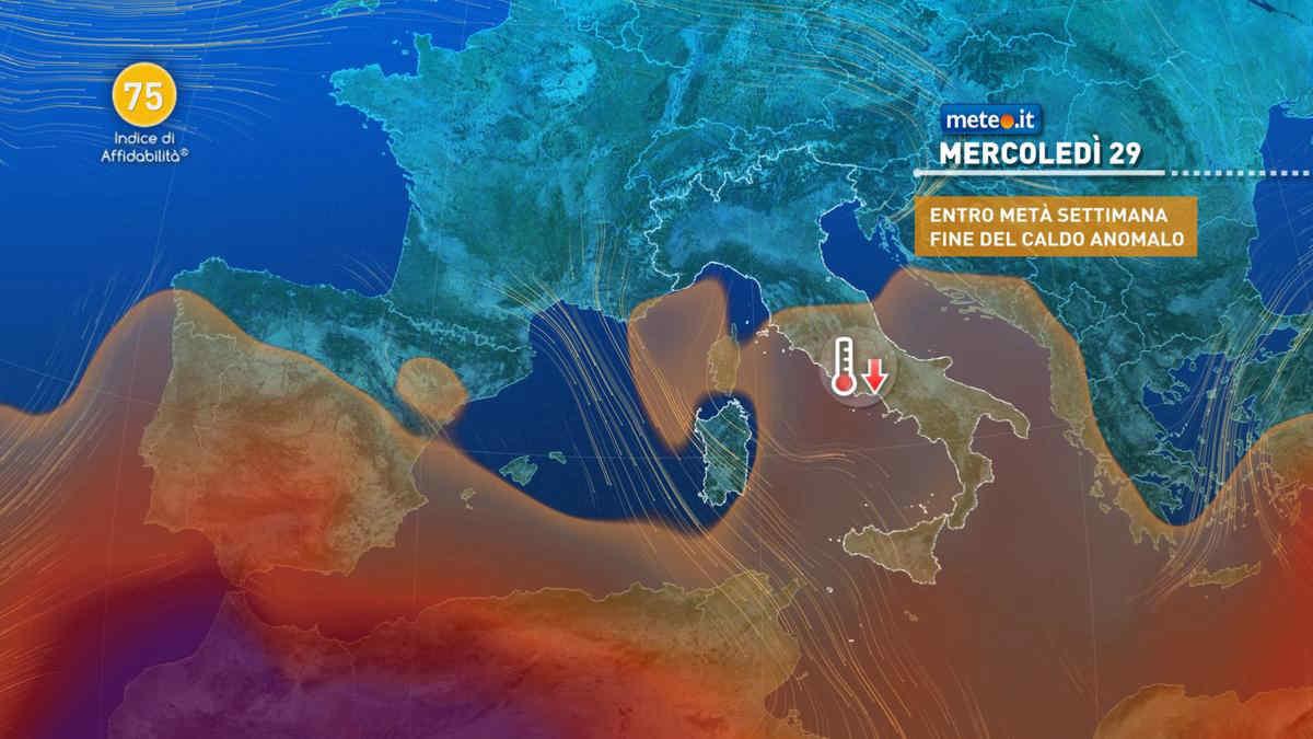 Meteo, a fine settembre una perturbazione spegne il caldo estivo al Sud