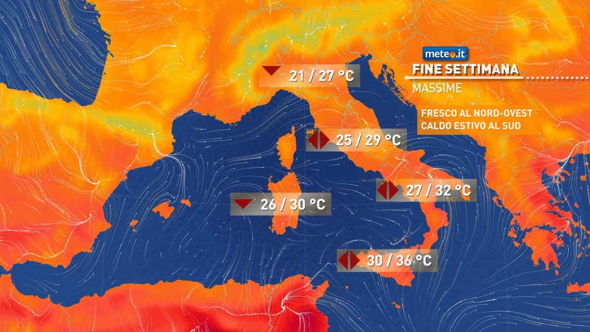Meteo, 18-19 settembre con fresche e instabili correnti atlantiche