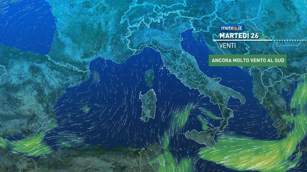 Meteo, il maltempo insiste all'estremo Sud: piogge abbondanti anche tra il 26 e 27 ottobre